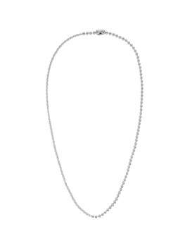 Silver Good Art Hlywd Edition Bead Necklace by Goodfight