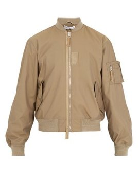 Ribbed Trimmed Bomber Jacket by Jw Anderson