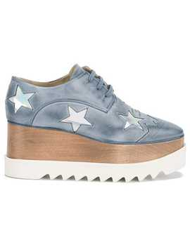 Stella Mc Cartney Elyse Star Detail Shoeshome Women Stella Mc Cartney Shoes Lace Up Shoes by Stella Mc Cartney
