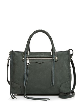 Regan Nubuck Leather Satchel by Rebecca Minkoff