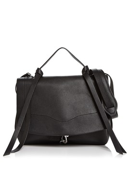 Stella Medium Leather Satchel by Rebecca Minkoff