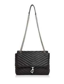 Edie Medium Leather Shoulder Bag by Rebecca Minkoff