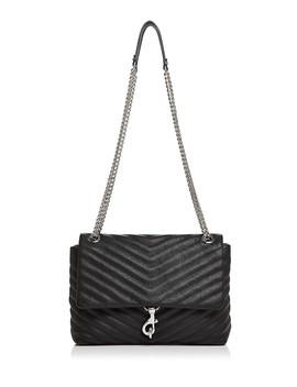 Edie Medium Leather Shoulder Bag by Rebecca Minkoff