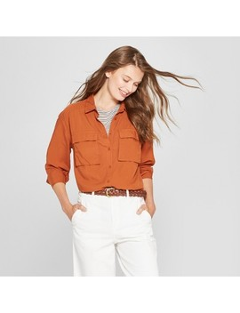 Women's Long Sleeve Utility Shirt   A New Day™ by Shop All A New Day™