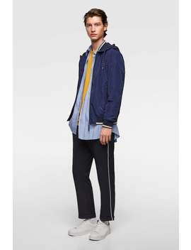 Lightweight Hooded Jacket  Jackets Basics Man by Zara