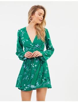Dusk Meadow Wrap Dress by Minkpink