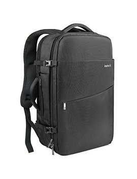 Inateck 15 15.6 Inch School Travel Business Laptop Backpack, Anti Theft Rucksack Flight Approved Carry On Bag With Rain Cover For Men And Women   Black by Inateck