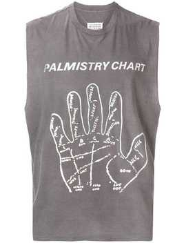 'palmistry Chart' Top by Maison Margiela