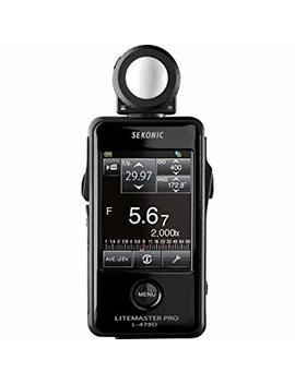 Sekonic L 478 D Lite Master Pro Light Meter by Sekonic