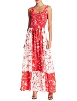 Tie Strap Maxi Dress by Gabby Skye