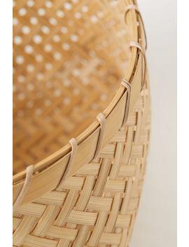 Корзина из плетеного бамбука by H&M