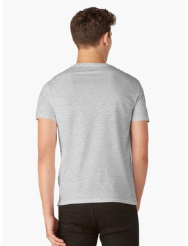 Mens V Neck T Shirt by The Child