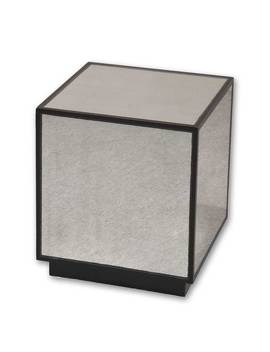 Uttermost Matty Mirrored Cube Table by Uttermost