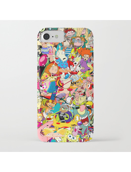 Childhood Cartoons I Phone Case by
