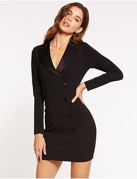Tuxedo Dress by Charlotte Russe