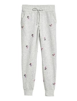 Vyšívané športové Nohavice by H&M