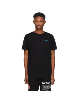 Black Gradient Slim Fit T Shirt by Off White