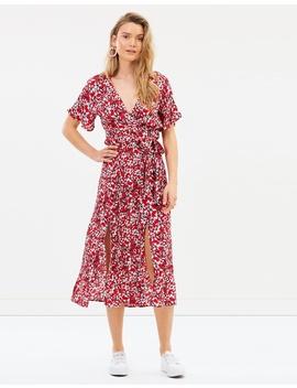 Wild Flowers Midi Dress by Minkpink