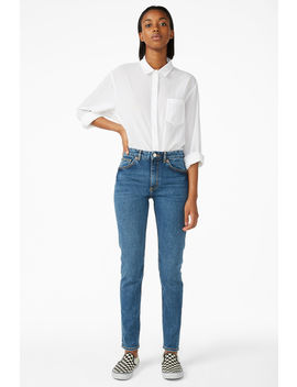 Moop Classic Blue Jeans by Monki