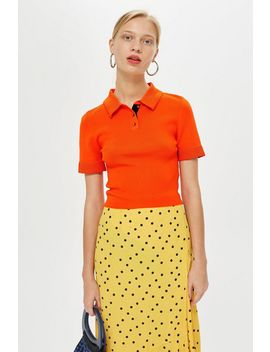 Ottoman Polo T Shirt by Topshop