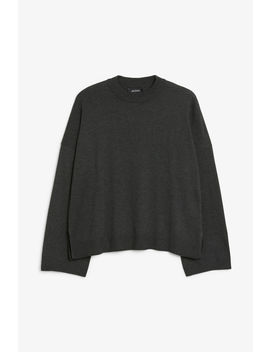 Crew Neck Sweater by Monki