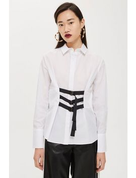 Strap Detail Shirt by Topshop