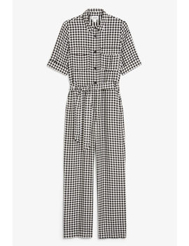 Tie Waist Jumpsuit by Monki