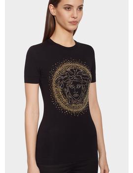Medusa Stud Slim Fit T Shirt by Versace