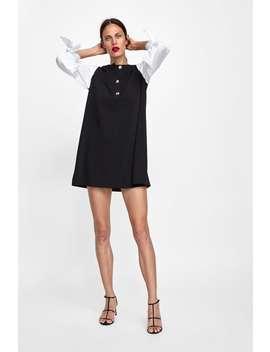 Kleid Mit Popelin  Alles Anzeigen Kleider Damen by Zara