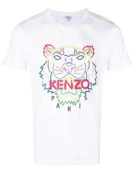 Kenzo Tiger Print T Shirthome Men Kenzo Clothing T Shirts by Kenzo