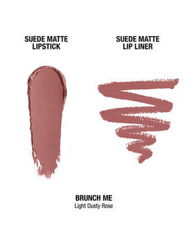 "Suede Matte Lippie Duo   Brunch Me              <Span Class=""Product.Sample.Minicart.Class.Variationdetails""></Span> by Nyx Cosmetics"