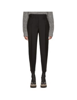 Pantalon Fuselé Noir by Acne Studios