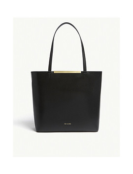 Melisa Large Leather Tote by Ted Baker
