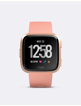 Fitbit Versa Watch Peach Rose Gold by Fitbit