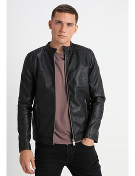 Entry Price Point Racer   Kunstlederjacke by Burton Menswear London