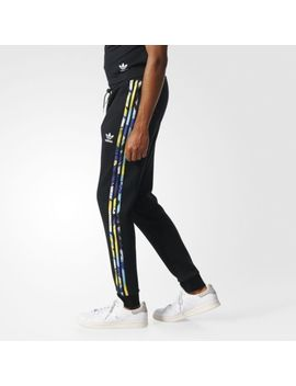 Adidas Originals Mens Montage Track Pants Joggers Trousers Black | Bk5906 by Adidas