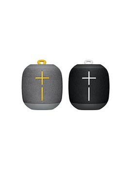 Ultimate Ears Wonderboom Bluetooth Speaker Waterproof With Double Up Connection   Black And Grey, Pack Of 2 by Ultimate Ears