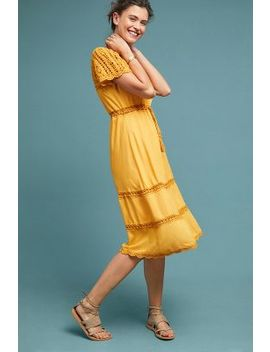 Sunshine Crocheted Dress by Cleobella