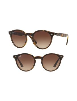 Blaze 37mm Round Sunglasses by Ray Ban