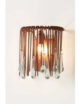Tallis Teardrop Sconce by Anthropologie