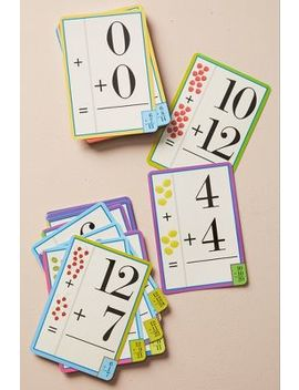 Mathematics Flash Cards by Anthropologie