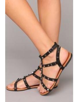 Roll With Me Sandal   Black by Fashion Nova