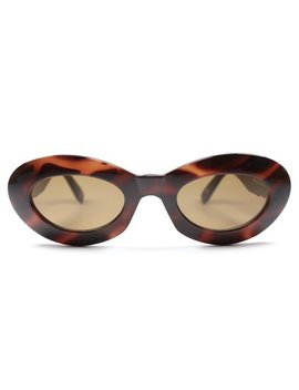 Versace Mod.415/C Col.900 Vintage Luxury Sunglasses Made In Italy 90's by Audax Eyewear