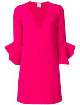 Pinkoshort Shirt Dresshome Women Pinko Clothing Day Dresses Silver Minnie 120 Leather Sandals Short Shirt Dress by Pinko