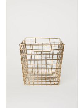 Металлическая корзина by H&M
