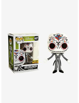 Funko The Nightmare Before Christmas Pop! Jack Skellington Sugar Skull Vinyl Figure Hot Topic Exclusive by Hot Topic
