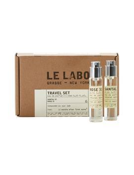 Santal 33 & Rose 31 Travel Spray Set by Le Labo