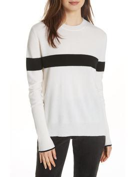 Bold Stripe Cashmere Sweater by La Ligne