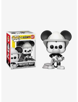 Funko Disney Pop! Firefighter Mickey Mouse Vinyl Figure by Hot Topic
