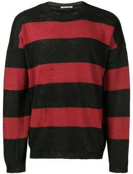 Our Legacystriped Style Sweater Home Men Our Legacy Clothing Knitted Sweatersstriped Formal Shirtstriped Style Sweater by Our Legacy